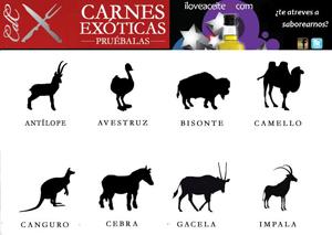 Carnes Exóticas