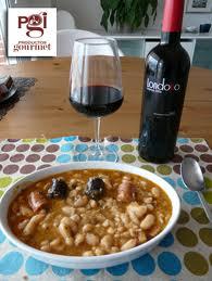 PabloD Gourmet - Fabada asturiana y Londoño Crianza 2006
