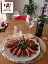 PabloD Gourmet - Salchichas con pimientos y Londoño Crianza 2006