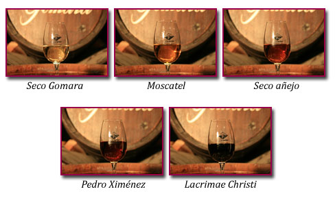 PabloD Gourmet - Colores de los vinos de Bodegas Gomara