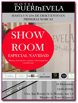 PabloD Gourmet - Showroom en el Hotel Duermevela