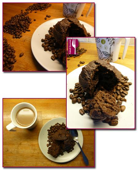 PabloD Gourmet - Magdalena de café - detalles