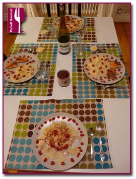 PabloD Gourmet - Salmón con pasta dálmata