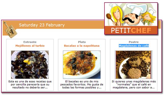 PabloD Gourmet - Menú Petitchef - 130223