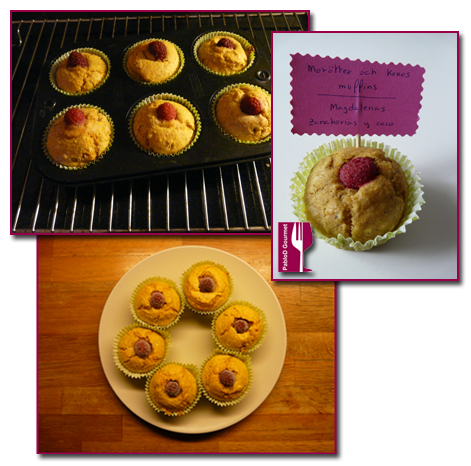 PabloD Gourmet - Muffins Zanahoria y Coco