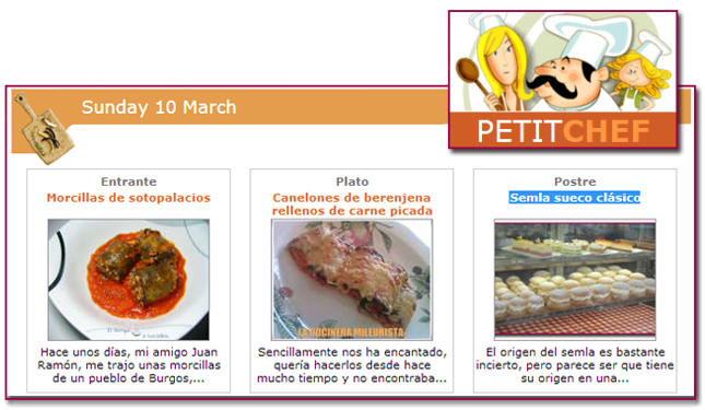 PabloD Gourmet - Menú petitchef - 130310