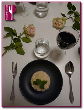 PabloD Gourmet - Risotto con manzana y gorgonzola 1