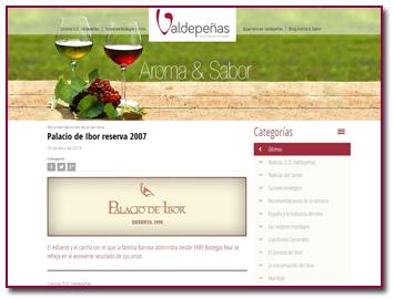 PabloD Gourmet - DO Valdepeñas - Aroma&Sabor