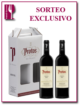 PabloD Gourmet - Sorteo con Protos Crianza 2010