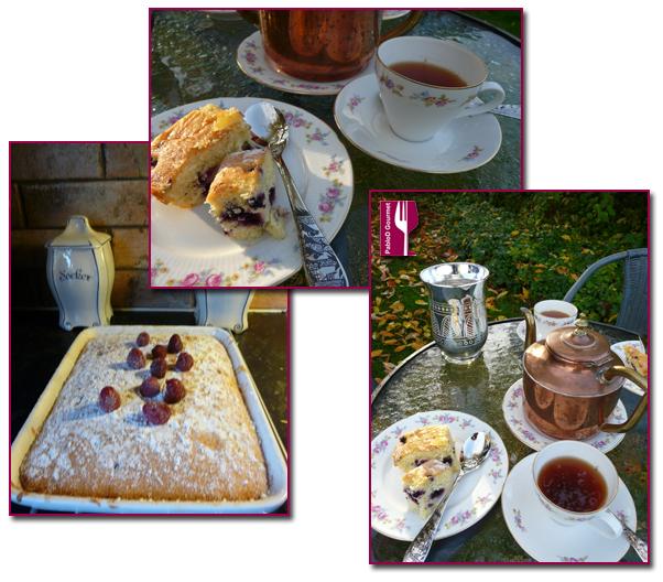 PabloD Gourmet - Bizcocho con arándanos con Té de pimienta y canela - 6