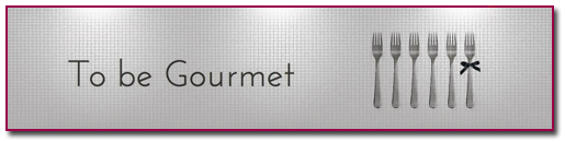 PabloD Gourmet - To be Gourmet - banner