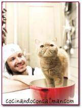 PabloD Gourmet - Manu Catman con su gato