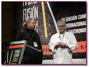PabloD Gourmet - Jean Luc Figuera en Madrid Fusion 2014
