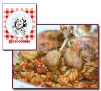 PabloD Gourmet - Arroz otoñal de Caco Galmés