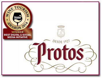 PabloD Gourmet - Bodegas Protos - Wine Tourism Awards 2014