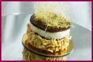 PabloD Gourmet - Mousse de café y cremoso de chocolate blanco con hilos de carajillo