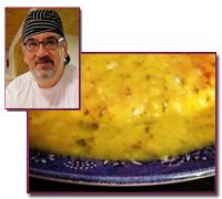 PabloD Gourmet - Tortilla de patata en salsa de Rafa Prades