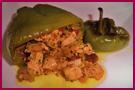 PabloD Gourmet - Cocina para bomberos - Pimientos rellenos de pollo y verdura