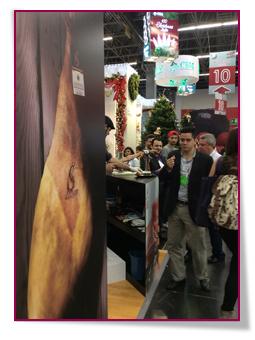 PabloD Gourmet - El Consorcio del Jamón Serrano Español en la feria Expo ANTAD de México 2