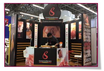 PabloD Gourmet - El Consorcio del Jamón Serrano Español en la feria Expo ANTAD de México