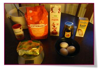 PabloD Gourmet - Los ingredientes - Ingredienser av belgisk våffla med honung