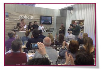 PabloD Gourmet - La Asociación de Queseros San Simón da Costa en Salón de Gourmets 2014