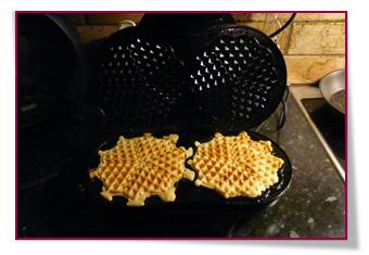 PabloD Gourmet - ¡Los gofres están listos! - Våfflorna är klar
