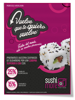 PabloD Gourmet - Vuelve que te quiero Vuelve de Sushimore