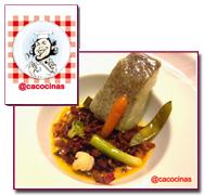 PabloD Gourmet - Bacalao confitado de Caco Galmés