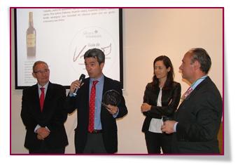 PabloD Gourmet - Entrega del premio al mejor vino generoso en La Guía de Vinos de la Semana Vitivinícola 2014