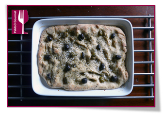 PabloD Gourmet - Focaccia recien horneada