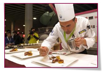 PabloD Gourmet - Joaquín Baeza Rufete en el concurso
