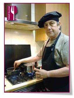 PabloD Gourmet - Jose Padilla - 2 Cocinando