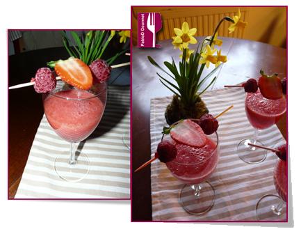 PabloD Gourmet - Vattenmelon juice med bär 2