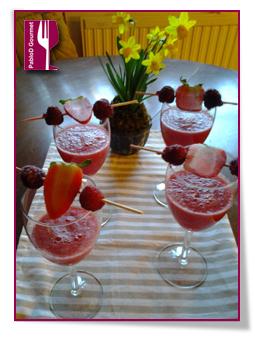 PabloD Gourmet - Vattenmelon juice med bär 3