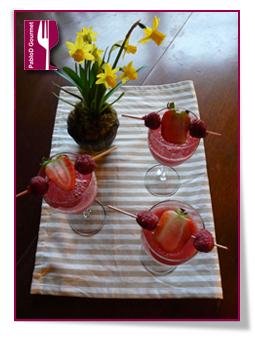 PabloD Gourmet - Vattenmelon juice med bär