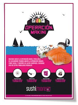 PabloD Gourmet - Cartel de Operación Makini