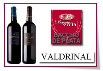 PabloD Gourmet - Dos bacchus de plata para los vinos de Bodega Valdrinal