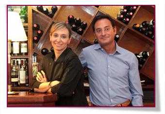 PabloD Gourmet - Carmen y Alberto González del Restaurante IZARRA