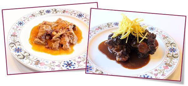 PabloD Gourmet - Platos tradicionales del Restaurante IZARRA