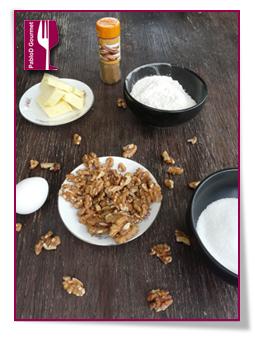 PabloD Gourmet - Ingredientes de Nötterkaka