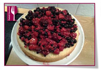 PabloD Gourmet - Midsommartårta - Segundo relleno de la tarta