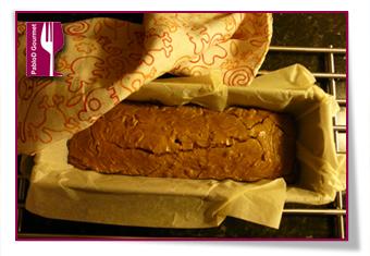 PabloD Gourmet - Nötterkaka reposando después del horno