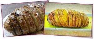 PabloD Gourmet - Patatas Hasselback