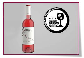 PabloD Gourmet - Tenue Rosado 2013 consigue la medalla de plata en los Premios Nuevo Vino