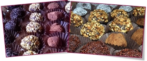 PabloD Gourmet - Trufas de chocolate negro
