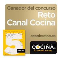 PabloD Gourmet - Ganador del concurso Reto Canal Cocina Receta por 5 euros