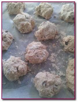 Pablod Gourmet - Los scones antes de hornearlos