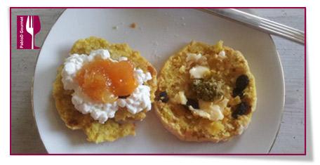 Pablod Gourmet - Scones de azafrán como tapas