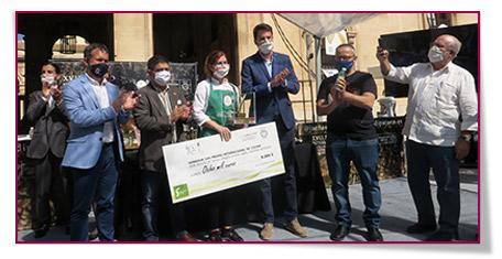 Ingrid Serra gana el XVII Premio Internacional de Cocina con aceite de oliva Virgen Extra